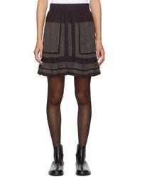 Étoile Isabel Marant - Green Rhoda Miniskirt - Lyst