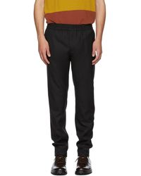 Norse Projects - Black Tech Wool Luther Trousers - Lyst