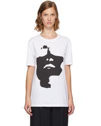 Neil Barrett - White Oversized Siouxsie T-shirt - Lyst