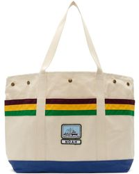 ee749883a4 COACH Scout Off White Leather Shoulder Bag in White - Lyst