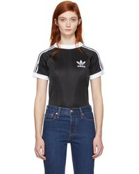adidas Originals - Black Styling Complements Football T-shirt - Lyst
