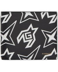 Givenchy - Black And White G Cosmic Print Wallet - Lyst