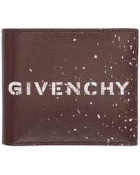 Givenchy - Graffiti-print Leather Billfold - Lyst