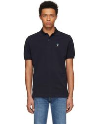 Paul Smith - Navy Naked Lady Gents Polo - Lyst