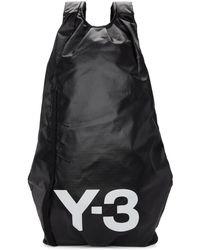 Y-3 - Black Yohji Ii Backpack - Lyst