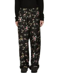 Haider Ackermann - Black Freesia Pyjama Trousers - Lyst