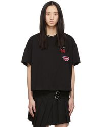 McQ - Black Psycho Billy T-shirt - Lyst