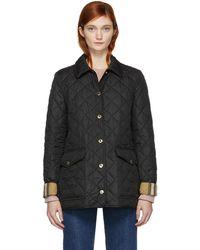 Burberry | Black Westbridge Jacket | Lyst