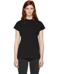Won Hundred | Black Proof High Neck T-shirt | Lyst