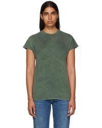 Won Hundred - Green Proof Acid Cap Sleeve T-shirt - Lyst