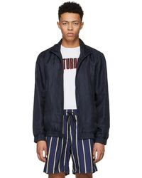 Saturdays NYC - Navy Everett Jacket - Lyst
