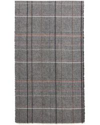 Stephan Schneider - Grey Plaid Schedule Scarf - Lyst
