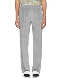 Opening Ceremony - Grey Velour Lounge Trousers - Lyst