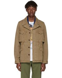 Visvim - Tan Achse Peerless Jacket - Lyst