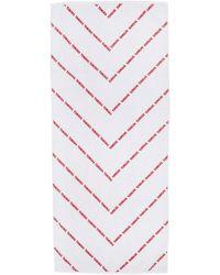 John Elliott - White And Red Yamaha Edition Towel - Lyst