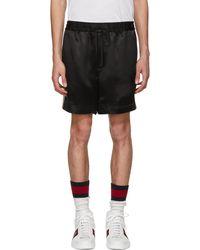 Gucci | Black Japanese Logo Shorts | Lyst