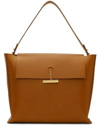 Sophie Hulme - Tan The Pinch Bag - Lyst