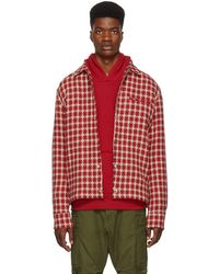 Simon Miller - Red Dimensional Plaid Shirt - Lyst