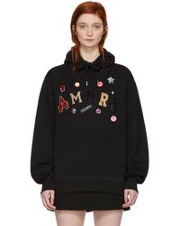 Dolce & Gabbana - Black Amore Sequin And Jewel Hoodie - Lyst