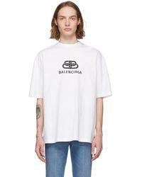 Balenciaga - Bb T-shirt - Lyst