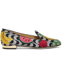 Charlotte Olympia - Multicolor Fruit Salad Slippers - Lyst
