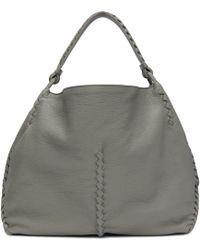 Bottega Veneta - Grey Oversized Hobo Bag - Lyst