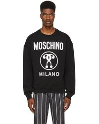 Moschino - Black Couture Crewneck Sweater - Lyst