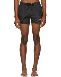 DIESEL - Black Bmbx-sandy Logo Swim Shorts - Lyst