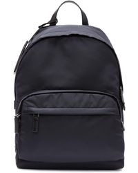 Prada - Navy Mountain Fabric Backpack - Lyst