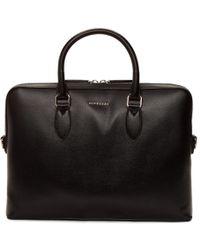 Burberry - Black Barrow Patchwork Briefcase - Lyst