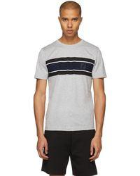 Fendi - Grey Logo T-shirt - Lyst