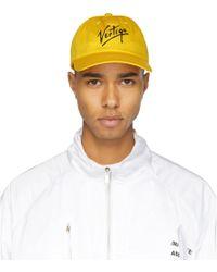 Etudes Studio - Yellow Orly Vertige Cap - Lyst