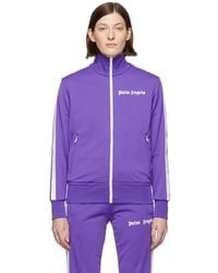 Palm Angels - Purple Classic Track Jacket - Lyst