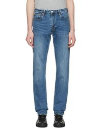 PS by Paul Smith - Blue Tapered Jeans - Lyst