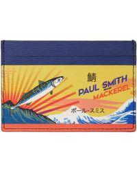 Paul Smith | Multicolor Mackerel Can Card Holder | Lyst