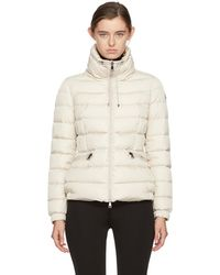 Moncler - Ivory Down Irex Jacket - Lyst