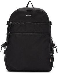 DIESEL - Black F-urbhanity Backpack - Lyst
