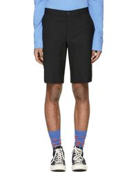 JW Anderson - Black Suiting Shorts - Lyst