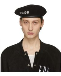 6aaf7e24 Cynthia Rowley Come Together Beret in Yellow for Men - Lyst