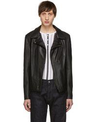Schott Nyc - Black Leather Jacket - Lyst