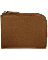 Common Projects - Brown Zipper Wallet - Lyst