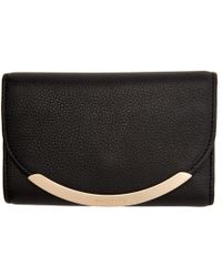 See By Chloé - Black Square Foldover Wallet - Lyst