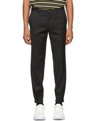 HUGO - Black Taylor 184f1 Trousers - Lyst