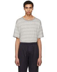 Needles - Grey Metallic Butterfly T-shirt - Lyst