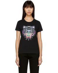 KENZO Tiger T-shirt - Black
