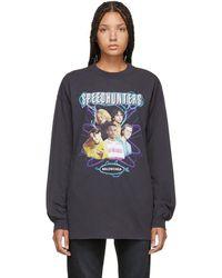 Balenciaga - Black Speedhunters Long Sleeve T-shirt - Lyst