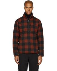 The North Face - Red Novelty Gordon Lyons Turtleneck - Lyst