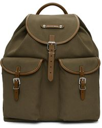 Alexander McQueen - Green Small Hiking Backpack - Lyst