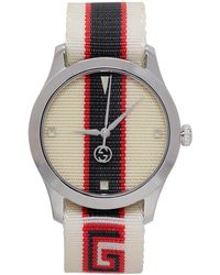 Gucci | White G-timeless Watch | Lyst