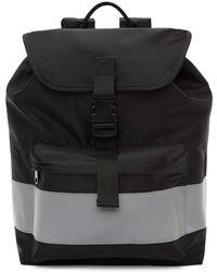 A.P.C. - Black Telio Backpack - Lyst